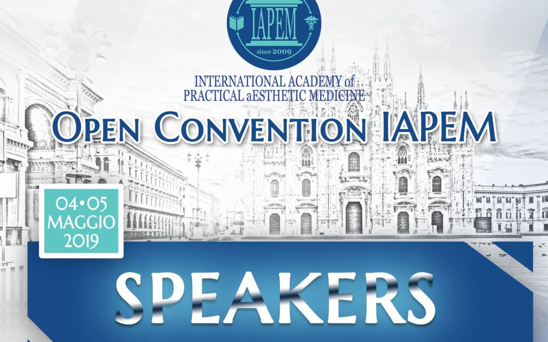IAPEM Open Convention – Relatori e Speakers